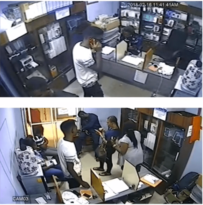 screenshot 43 - CCTV Captures The Moment A Boy Stole An iPhone, At Shop In Computer Village (Video)
