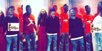 shatta wale prayers vals day - Shatta Wale And The Shatta Movement Spend Val's Day Praying For Protection (Video)