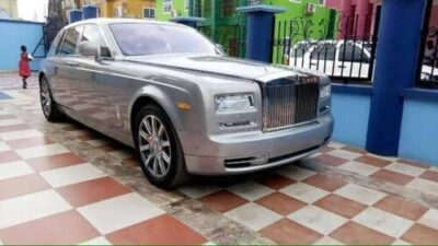 "35839111 1783521128405365 1722478642442797056 n - Angel Obinim Acquires ₦109 Million ""Brand-New"" Rolls Royce Ghost (Video,Photos)"