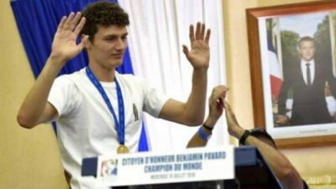 benjamin-pavard France's Pavard Wins World Cup Goal Of The Tournament