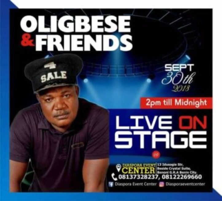 41382354_1061393274028861_908120828434972672_n Singer Oligbese To Celebrate His Birthday With A Concert In Benin City (Photos)