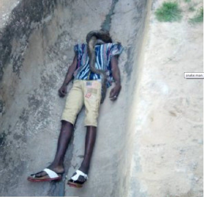 screenshot_1 Man Strangled To Death By His Pet Snake In Ghana (Photos,video)