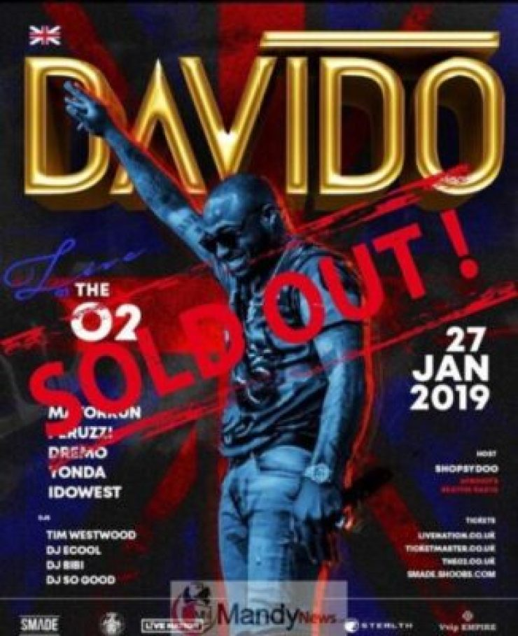 49907098_1223616344470565_563130538059382793_n1768601575 Davido Sold Out The O2 Arena In London, Just like Wizkid (Photos)