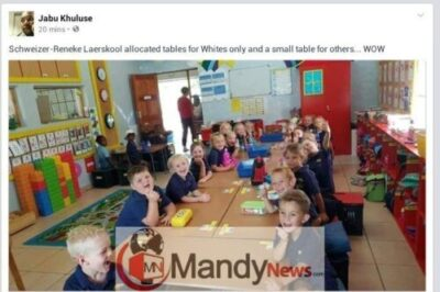 8468491_ch_jpeg5f4ece0ebf76d45aa0ac029792b67d151674124843 Teacher Suspended Over Disturbing Photo Of Pupils Separated By Color