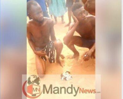 8514031 capture2 jpeg72528766582dfff47d3117d82567eba3979546599 - Young Men Caught After Stealing Panties In Benin, Forced To Burn Them (Photos)