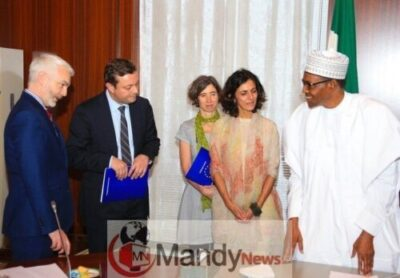 8562459 dxhvhg8w0aa5mji jpeg jpegdf155810caeff42f78d1c4c0cd75718221046734 - President Buhari Receives A Delegation Of European Union In Aso Rock Today (Photos)