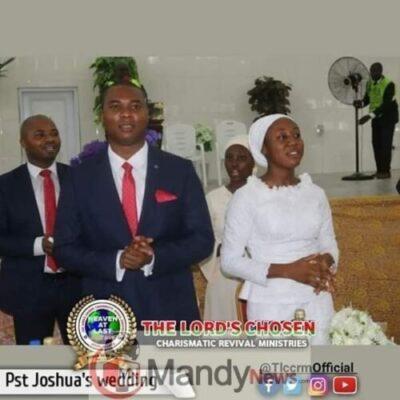 8599868 fbimg1548526244565 jpeg9ff8ae87b623e648e808e1eba19913081131800616 - Lord Chosen Pastor Lazarus Muoka's First Son Weds (Photos)