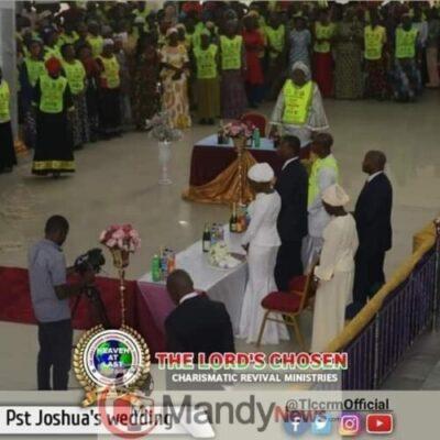 8599869 fbimg1548526238773 jpegecb2cf168c9a2c5e6c1ae9ae934f25d7305963424 - Lord Chosen Pastor Lazarus Muoka's First Son Weds (Photos)
