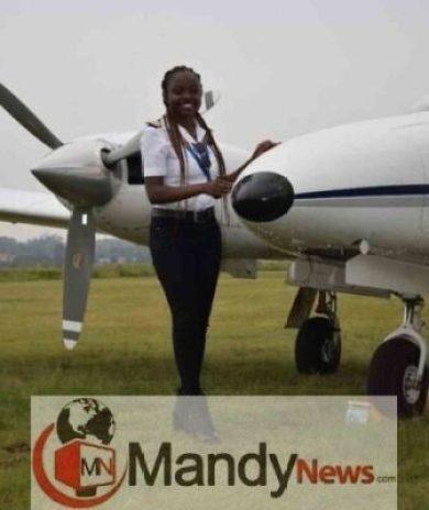 IMG_20190110_064605-390x464 Meet Ghana's Youngest Female Pilot, Audrey Esi (Photos)