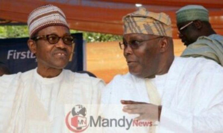 atiku-and-buhari679396629 Buhari, APC Spends Billions Of Naira To Stop Atiku US Trip - PDP
