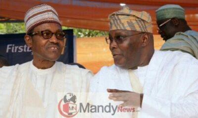 atiku and buhari679396629 - Buhari, APC Spends Billions Of Naira To Stop Atiku US Trip - PDP