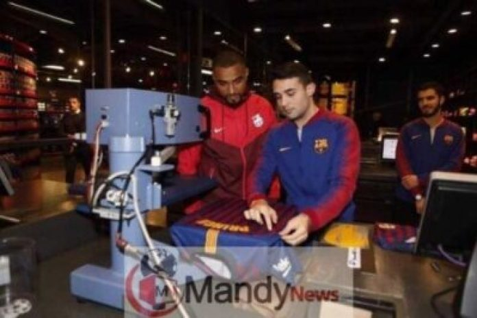 More Photos As Kevin Prince Boateng Got Signed To Barcelona FC