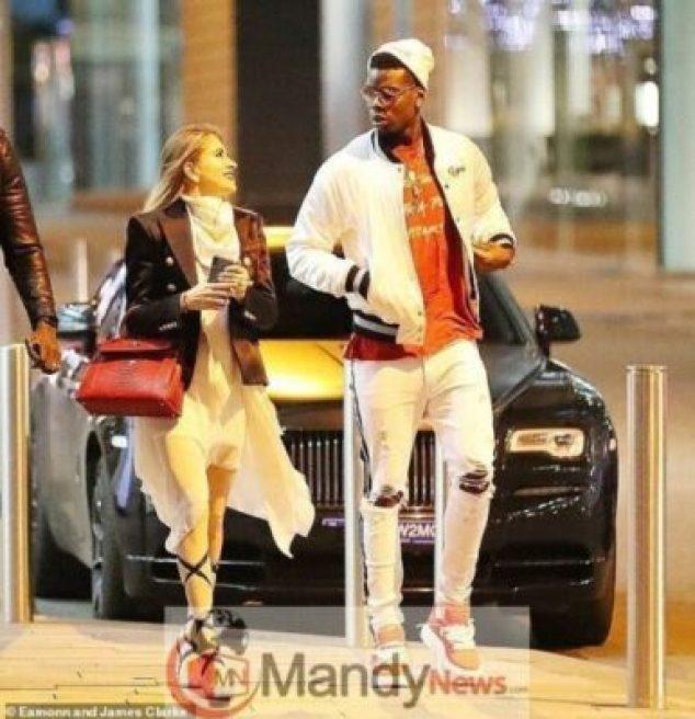 pogba-gf11201475195 Photos: Paul Pogba Steps Out With Beautiful Girlfriend, Maria Salaues