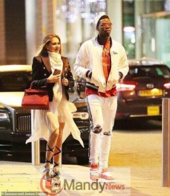 pogba gf2313507645 - Photos: Paul Pogba Steps Out With Beautiful Girlfriend, Maria Salaues