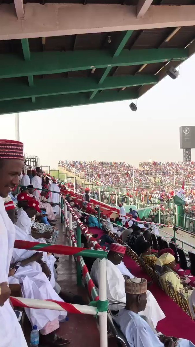 2x832whwrebaiquv1316374576 Video Of Crowd Waiting For Atiku For His Rally In Kano
