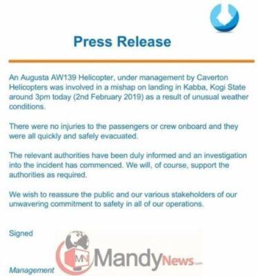 8664133 5c56d073f207e jpeg4ea3a681cfe4d2c092f9ae9d6bcb60e0533048180 - Helicopter Company Issues Statement On VP Osinbajo's Crash