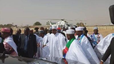 8725103 img20190210115735 jpega1fa5f390353148c881c71f74db83ad31832419995 - Buhari Arrives In Zamfara, For His Campaign Rally