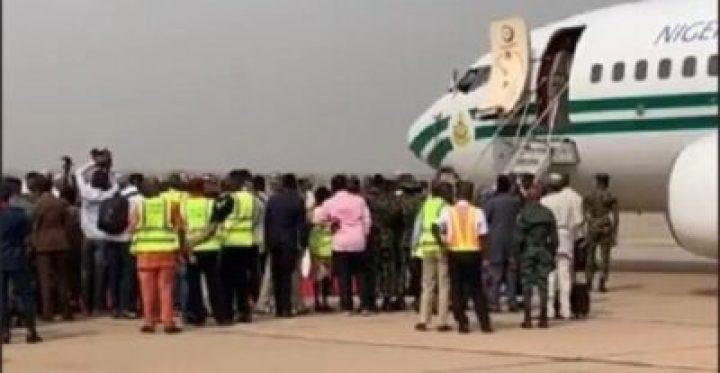 8734191_screenshot20190211112258_jpegdfe7f504f0924bf7c4f17b0029c4bd4f1086526879 Buhari Arrives In Kwara State To Flag Off Presidential Campaign