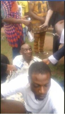 8737447 capture3 jpeg4480c4b52c001b14a641722f3e658923548910703 - Police Parade Native Doctor, Men Who Tortured Lady Over Missing IPhone (Photos)