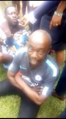 8737448 capture1 jpegb1ff00360a9015ca7795717777a844601052711238 - Police Parade Native Doctor, Men Who Tortured Lady Over Missing IPhone (Photos)