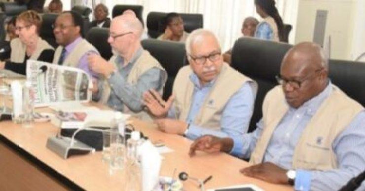 8738606_com4_jpegf6da3c7c57fdf35239706846c8d1c5811840820210 Commonwealth Election Observers Land In Nigeria, Meet INEC (Photos)