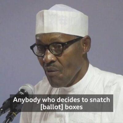 "8801872 img20190218wa0022 jpeg28ea3cfb8505b0d24c3935a98a450fb0 - ""Jungle Justice"": Buhari's Threat To Ballot Box Snatchers Got Nigerians Talking"