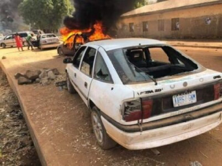 8828909 bado2 jpge89f0ebd01b507f9ae9bcce1fa31bef5 - Supporters Killed As Thugs Attack Kwankwaso's Convoy In Kano (Photos)