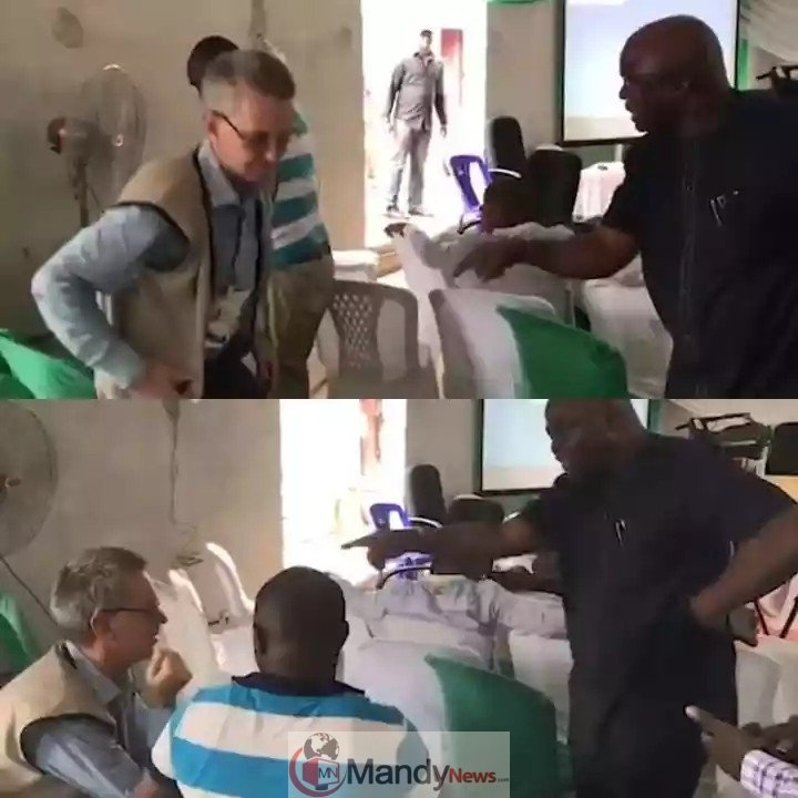 8873658 img20190227wa0013 jpeg85260902a2a6d30ba57cf9f725f65974 - Angry Nigerian Confronts INEC Official & Oyinbo Man Caught Altering Results