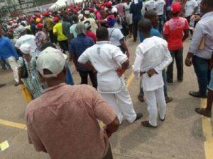 DzNBf5jUcAAu AY 300x225 - The Momentum Is Gathering Already For Atiku's Lagos Rally (Photos)