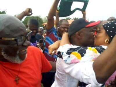 FB IMG 15510208888444578 - Ovia Rejoice, As Hon. Dennis Idahosa Wins Omosede Igbenedion (Photos)
