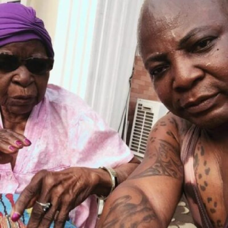 IMG_20190222_093100_412 Charly Boy Shares Emotional Moment With His 101-Year Old Mother (Video)