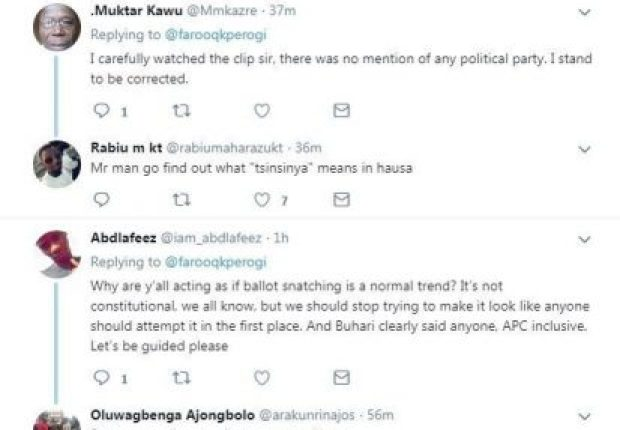 Screenshot 14 620x430 - APC Caught Sharing Money To Northerners To Vote (Video)