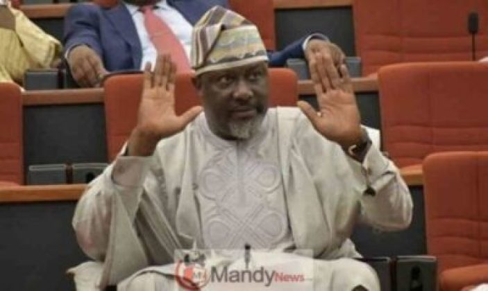 Sen-Dino-Melaye-703x420 Dino Melaye Supporters Celebrate Election Victory With Him (Video)