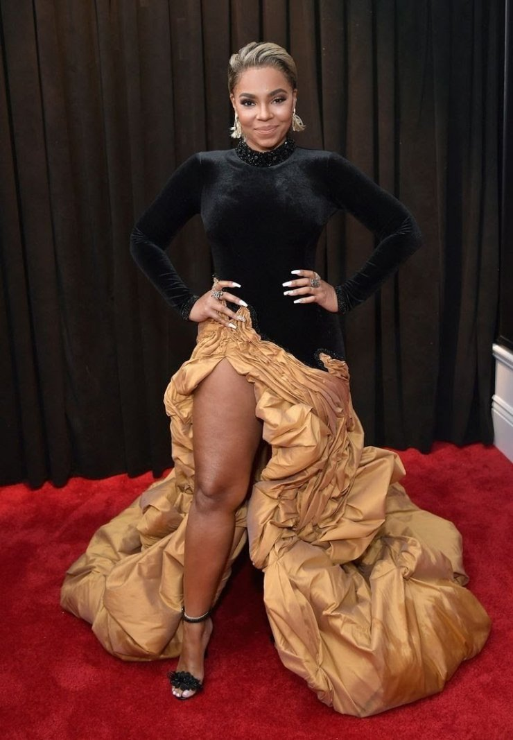 ashanti attends the 61st annual grammy awards at staples news photo 1097525796 1549846285783571577 - All Grammys 2019 Red Carpet Celebrity Dresses & Looks (Photos)