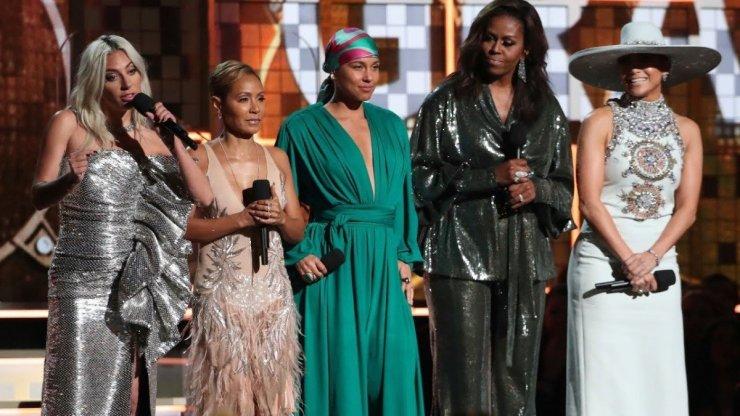 d017448beaf443197983338e97fbc4271906098191 Michelle Obama Makes Surprise Grammy Award Appearance