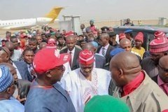 dzcidnsw0aaso l1398055714 - Atiku Arrives In Kano For Campaign Rally (photos)