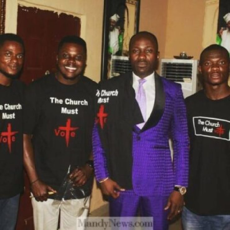 instasave 11571010820 - INEC Doesn't Count Prayer Point But Votes - Apostle Suleman (Photos,Video)