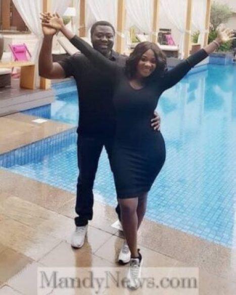 Mercy Johnson and her husband Prince Odi Okojie