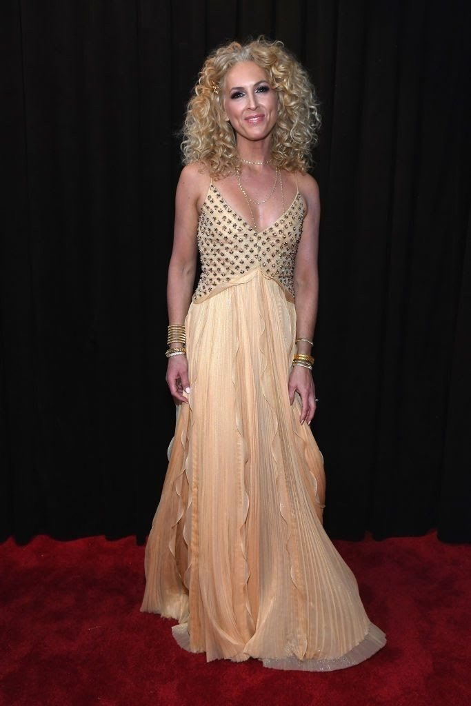 kimberly-schlapman-of-little-big-town-attends-the-61st-news-photo-1097514042-15498435211031497524 All Grammys 2019 Red Carpet Celebrity Dresses & Looks (Photos)
