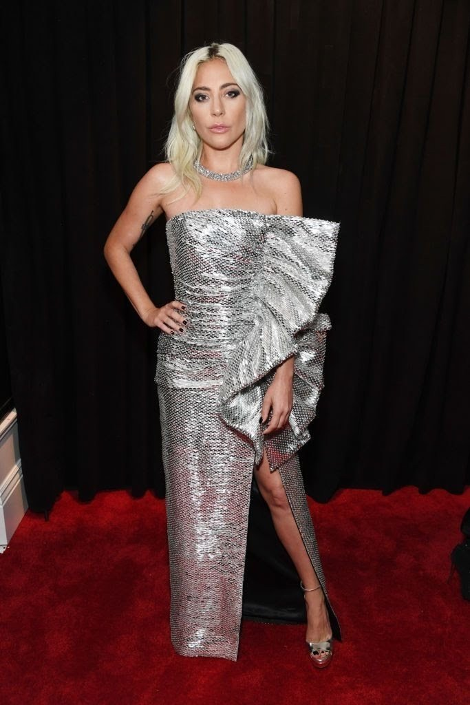 lady gaga attends the 61st annual grammy awards at staples news photo 1097530252 1549846949308272428 - All Grammys 2019 Red Carpet Celebrity Dresses & Looks (Photos)