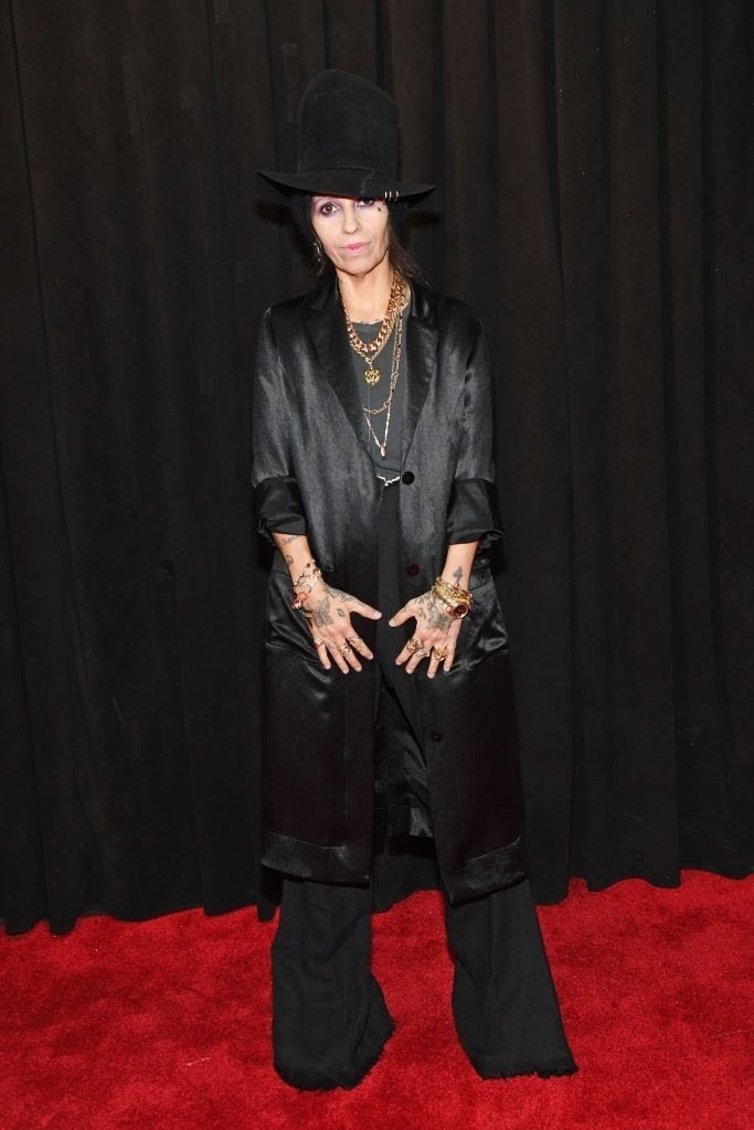 linda-perry-attends-the-61st-annual-grammy-awards-at-news-photo-1097521746-15498441301430369810 All Grammys 2019 Red Carpet Celebrity Dresses & Looks (Photos)