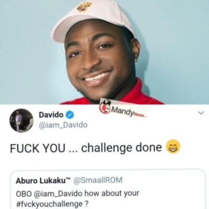 1554060704604 Between Davido And A Fan Who Requested Him For #FvckYouChallenge