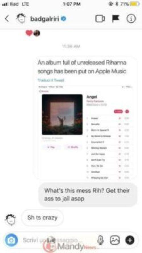 39869-2 Rihanna Responds After Secret Album Full Of Unreleased Songs Leaks Online