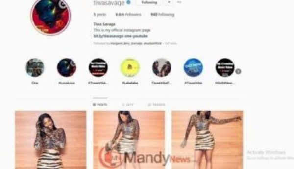 46493076 Tiwa Savage Deletes All Instagram Pictures, Fans Wonder Why!
