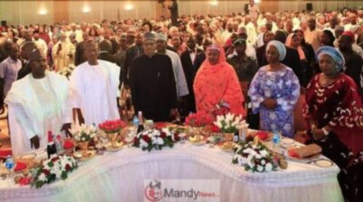 5c7be6e6a2de5 See Photos From President Buhari's Election Victory Dinner
