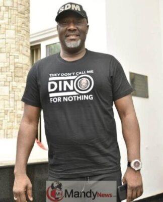 """8907144 screenshot20190302133719 jpegb5a19c4b2f907ccde6410a27c74d2a9d - Senator Dino Melaye Rocks """"They Don't Call Me Dino For Nothing"""" T-shirt"""