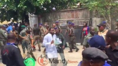 8955745 screenshot20190310at1 43 05pm jpeg33bdec0bf22fae140ebec7bf9dcf48a0 - Police Officers And Soldiers Clash At INEC Office In Rivers (Photos,Video)