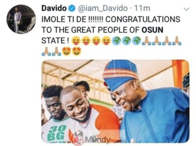 9032106 img20190322154011147 jpeg6d4beb7b8c78d2d58d1135967ec8cc3e - Davido Congratulates His Uncle After Been Declared Governor Of Osun