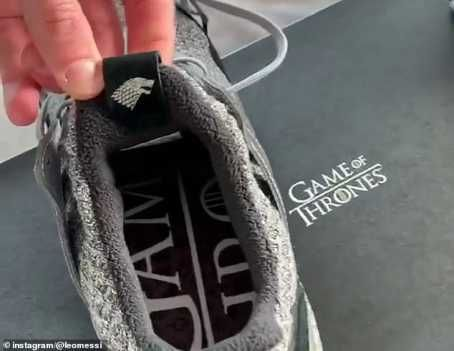 9059997 20190326181948 jpeg6d92a20278860741021d22890247db76 - Lionel Messi Exhibits Off Custom-made Adidas Sport Of Thrones Trainers (Pictures)