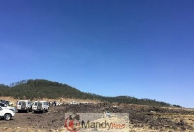 9ac324c0 b9de 4a42 b85c 5fe9ca95a009 - Crash site Of Ethiopian Airlines That Killed 157 People (Photos)